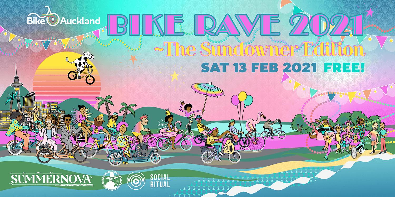 Bike Rave Sundowner Edition publicity