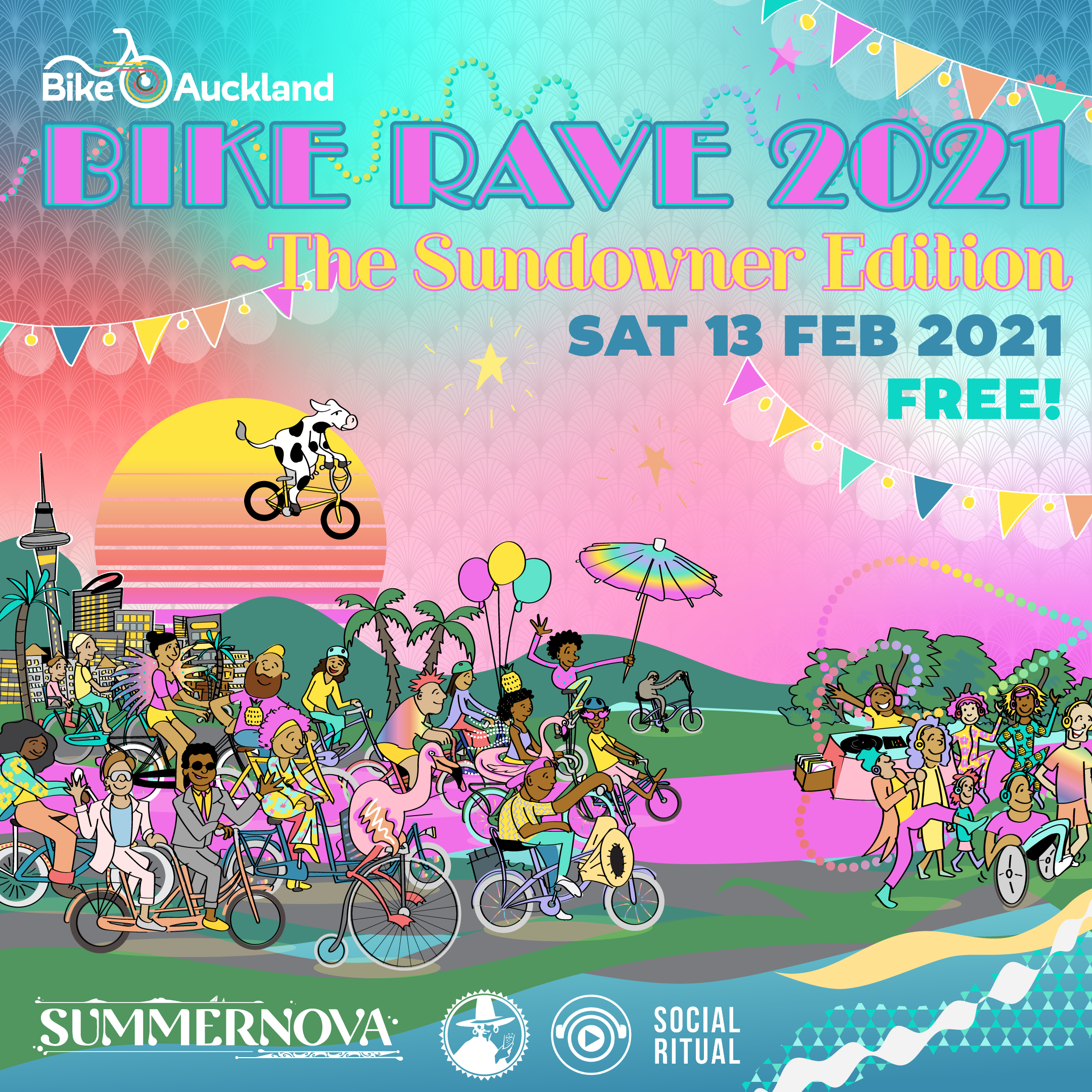 Bike Rave - The Sundowner Edition